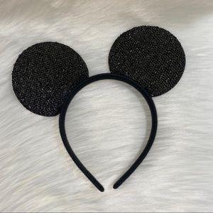 Glitter Disney Mickey Mouse Ear Headband